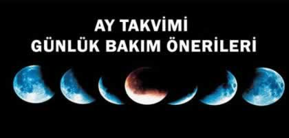 21 Ocak 2019 Ay Takvimine Göre Günlük Bakım Önerileri
