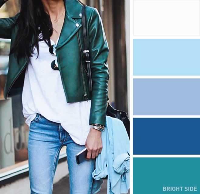 Bahar için en iyi renk kombinasyonları