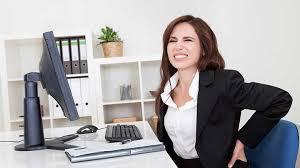 Yoğun çalışma hayatı bel ve boyun ağrısı nedeni
