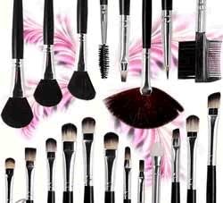 Makyaj fırçalarının kullanım kılavuzu
