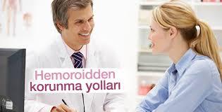 Hemoroidden korunma yolları