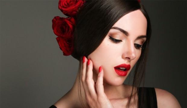 İspanyol stili makyaj
