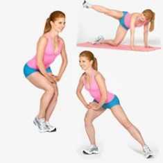 Sıkı bir kalça için 4 basit egzersiz