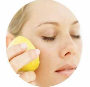 Limon maskesi ile lekelerden kurtulun