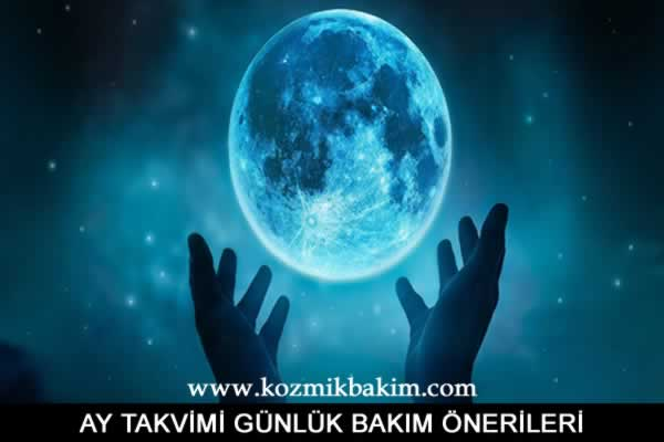 26 Haziran 2019 Ay Takvimi Günlük Bakım Önerileri
