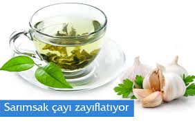 Sarımsak Çayı ile Yağları Yakın