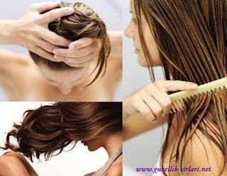 Yağlı Saçlar İçin Bitkisel Maskeler