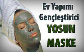 Cildi Gençleştiren Yosun Maskesi