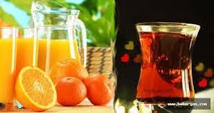 Yumurtalık kanserine karşı portakal suyu ve çay